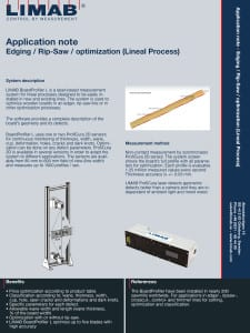 Application note Edger System