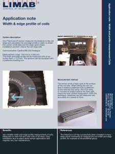 Application Note Coil edge profile
