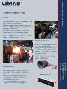 Application Note Diameter Hot Tubes