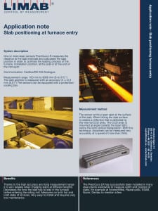 Application Note Slab positioning