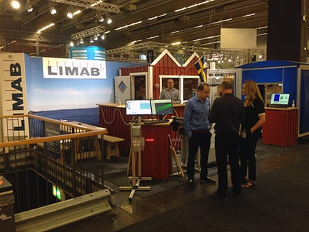 LIMAB at Wood & Technology in Göteborg